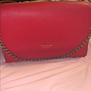 Almost Brand New red Kate Spade crossbody purse